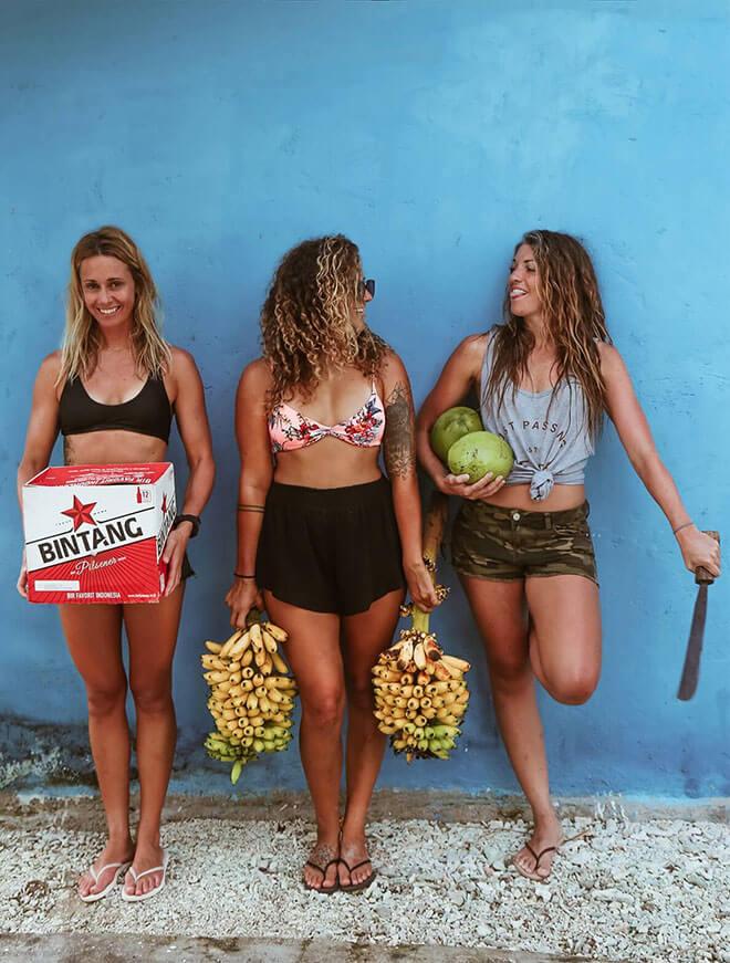 Retraite surf yoga Équateur et Salvador Salty Souls Experience - Erika Drolet Marie-Christine Amyot Arianne Chicoine