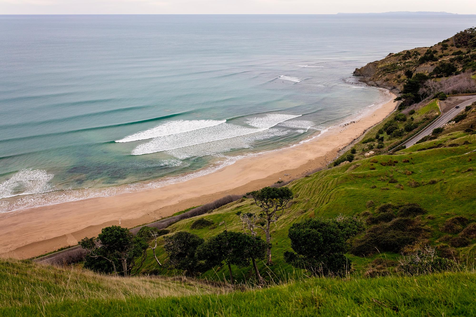 Nouvelle-Zélande - Plage Surf