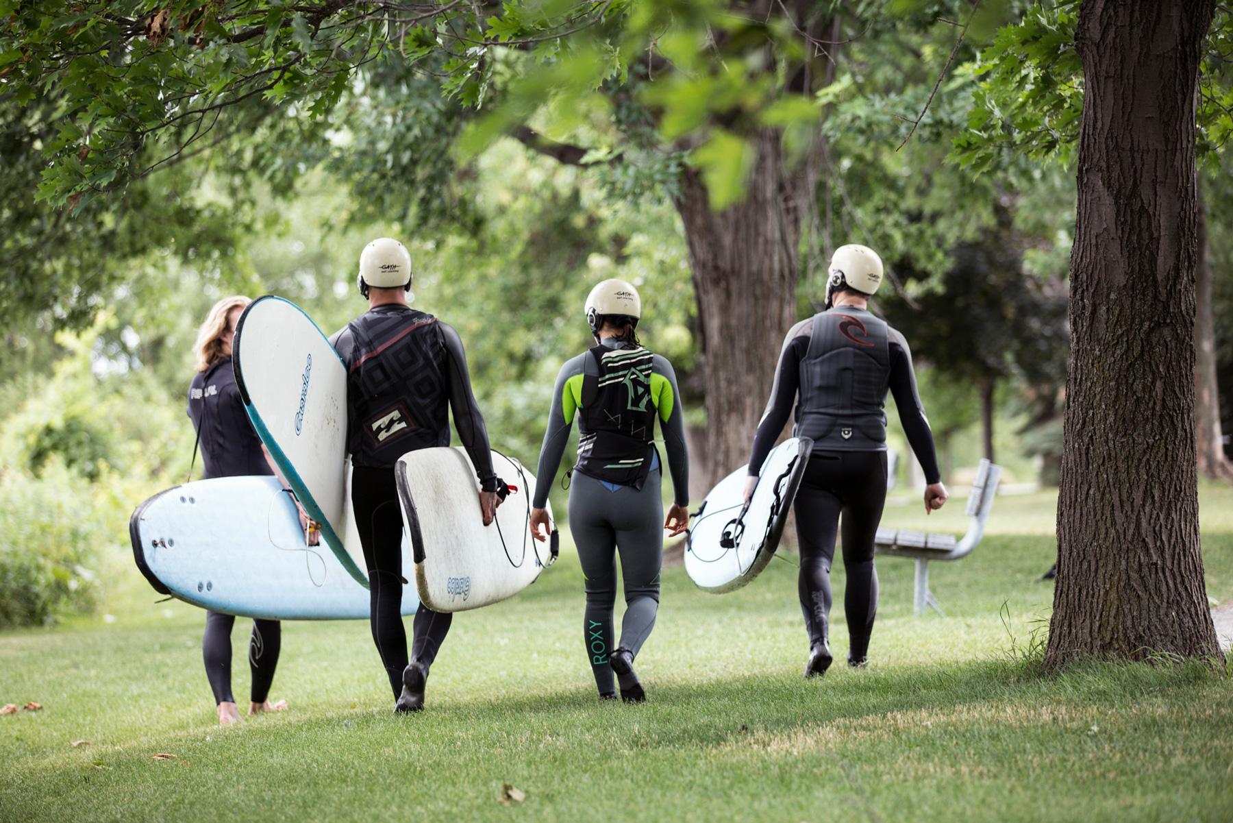 KSF Surf Montréal - Lasalle - Cours Surf de rivière Montréal Vague à Guy et Habitat 67