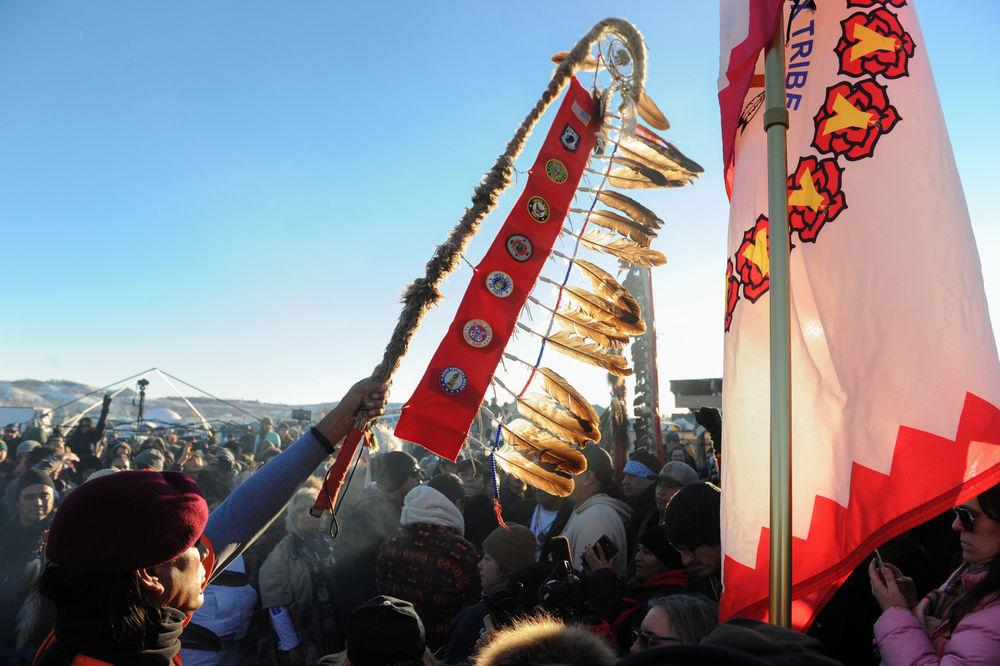 Standing Rock - Course contre le pétrole stephanie keith reuters