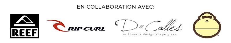 partenaires du ouisurf camp 2018