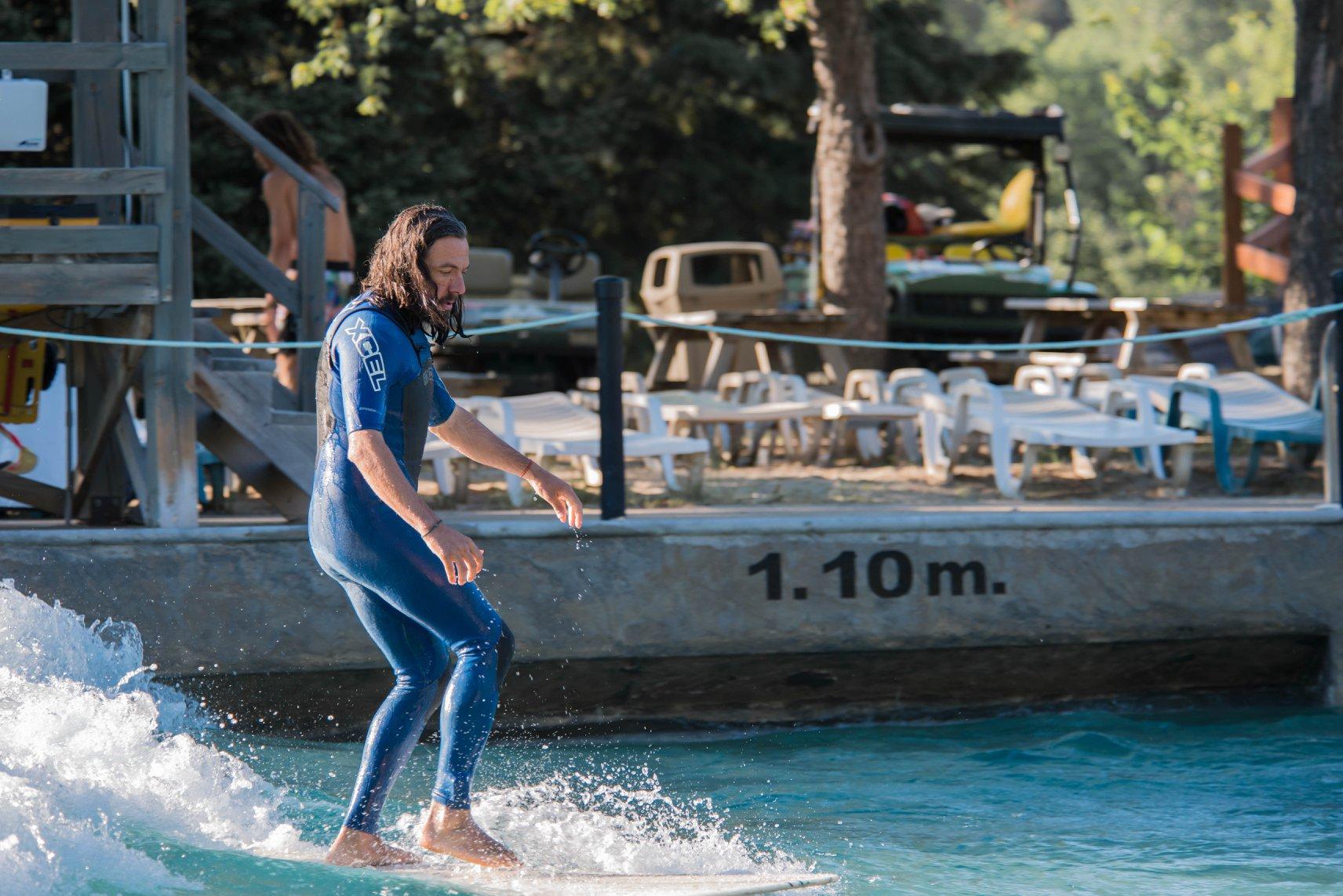 OuiSurf Piscine à vagues Mont Saint-Sauveur surf montréal