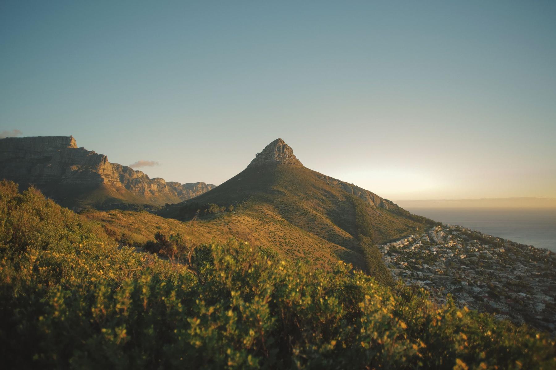 OuiSurf en Afrique Afrique du Sud paysage