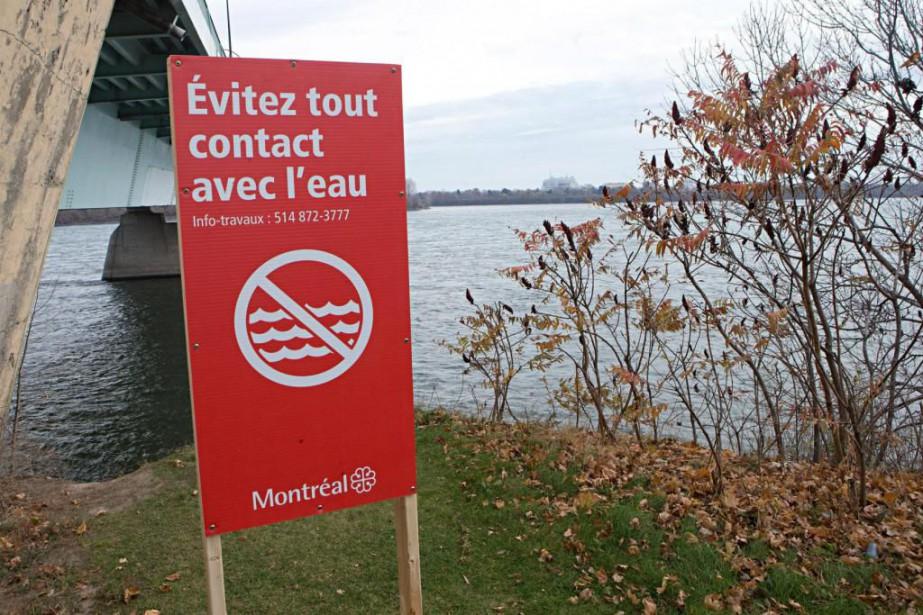 Qualité eau du fleuve Saint-Laurent