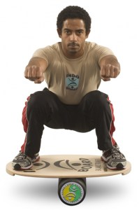 indoboard squat