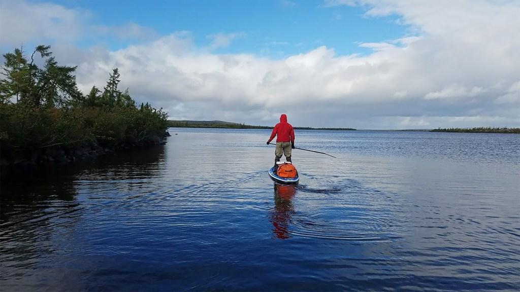 SUP-camping au Nunavik