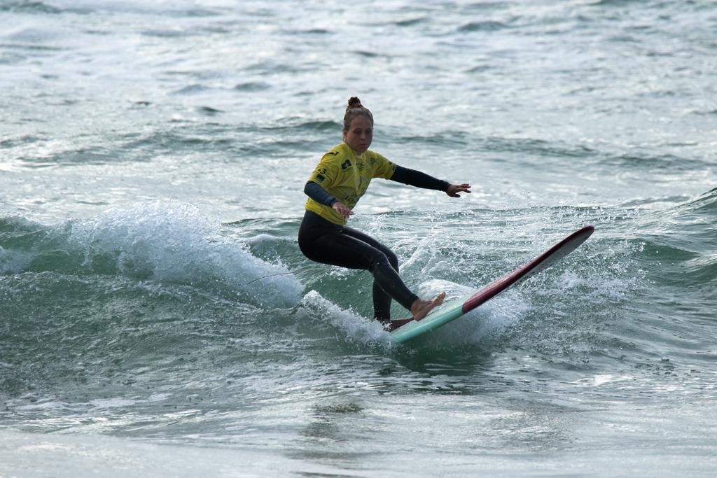 Lydia Ricard aux championnats mondiaux de longboard