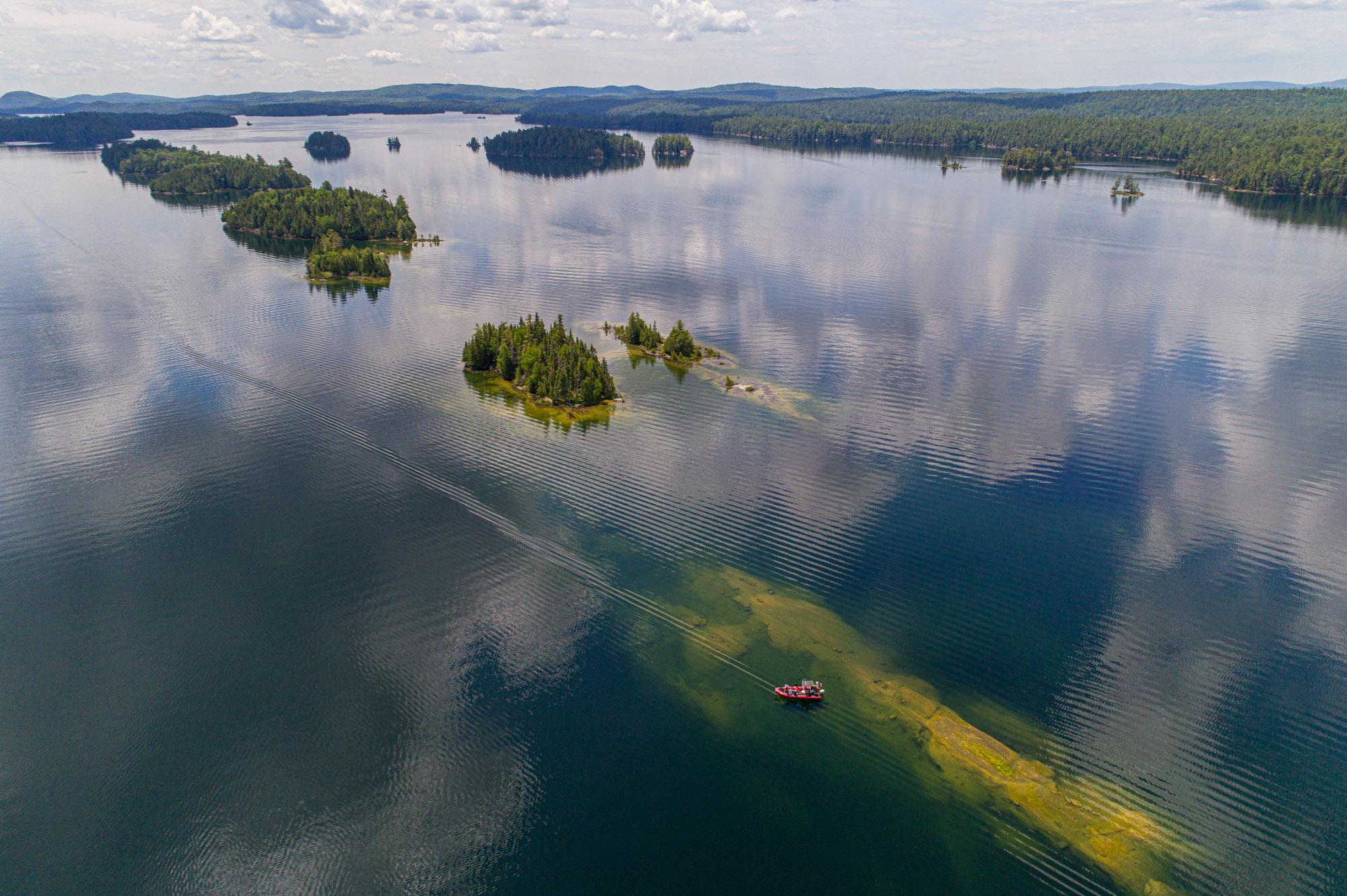 Plongée Lac 31 Milles