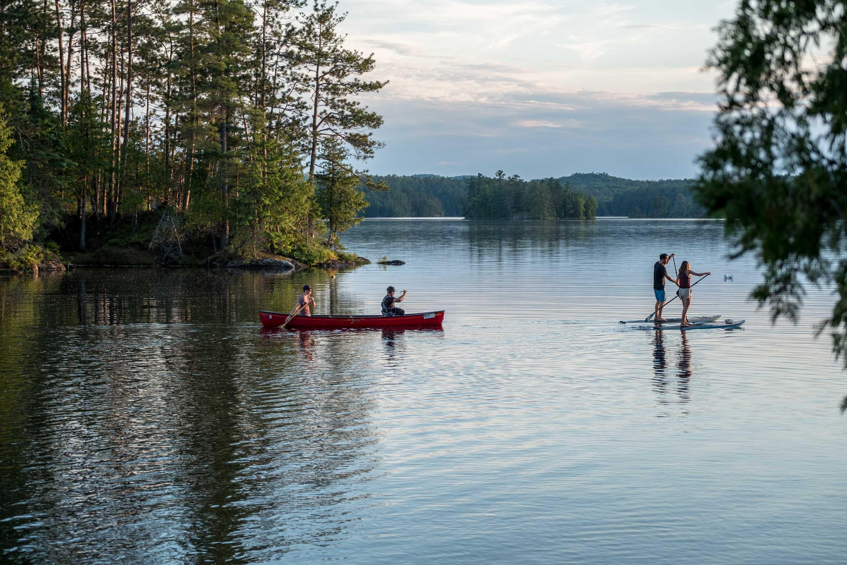 Canot-camping en outaouais