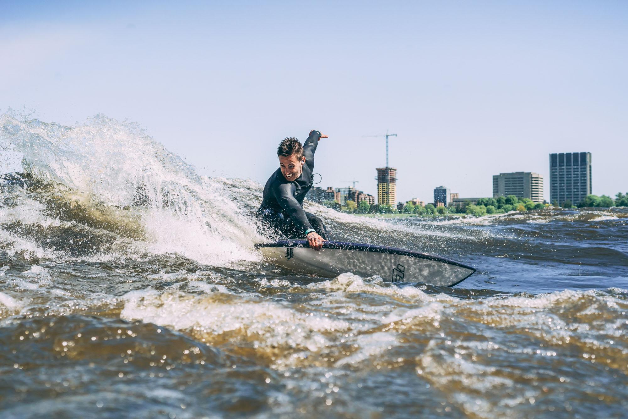 Surfeur Tristan Lafontaine