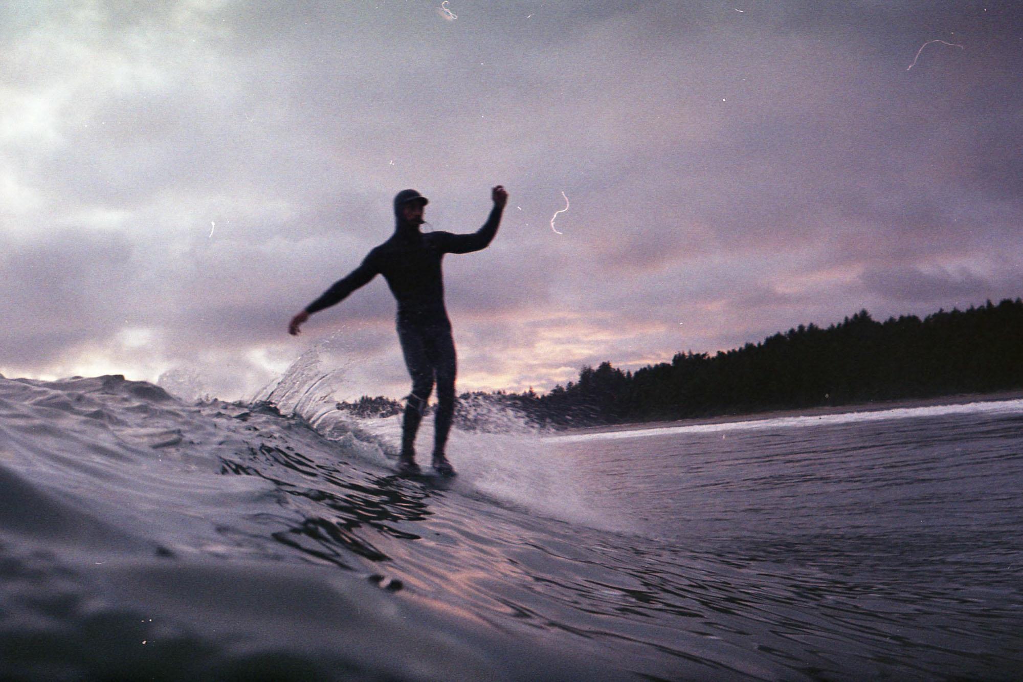 photographie de surf avec un nikonos 35mm
