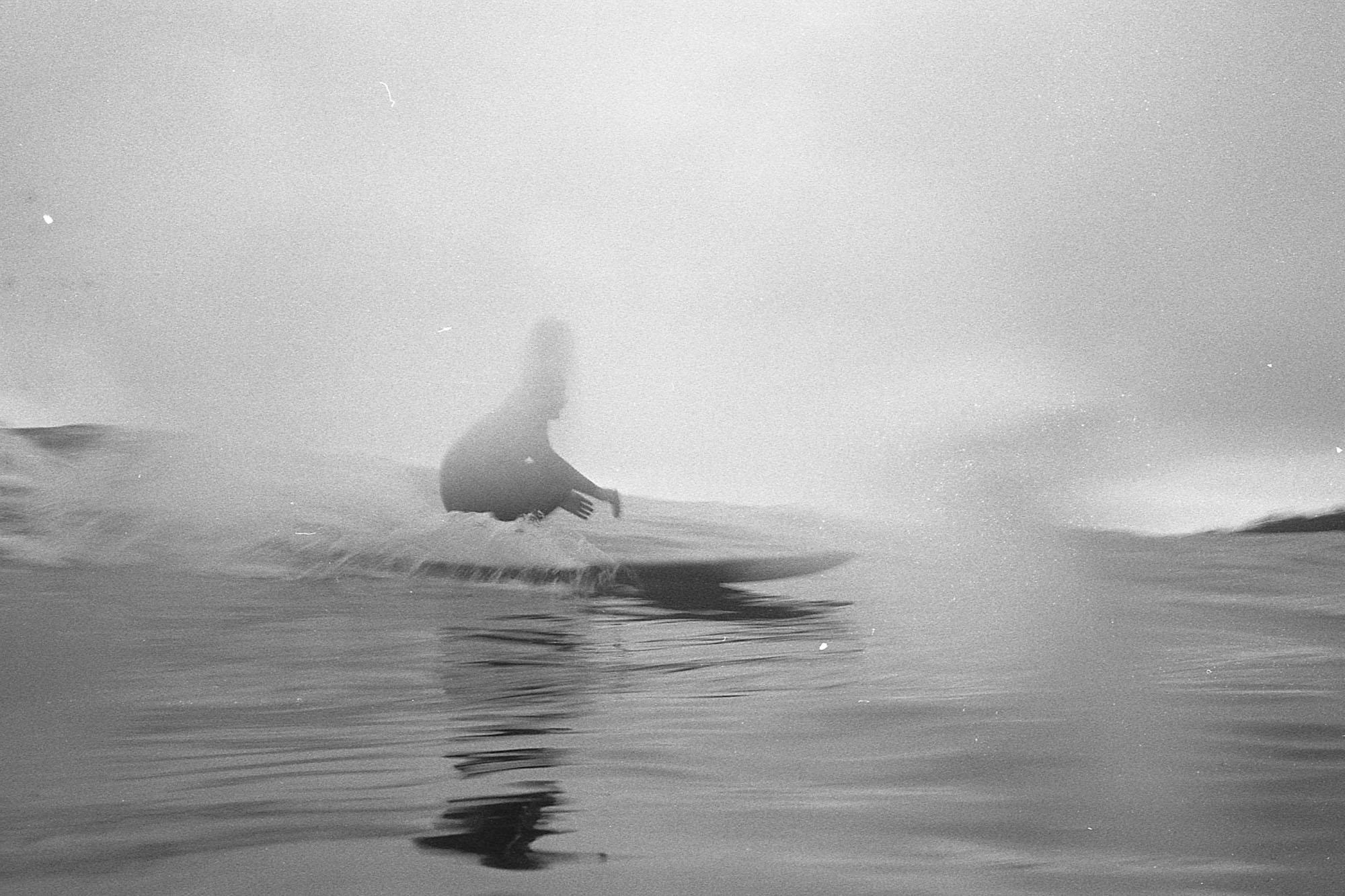 photographie de surf argentique